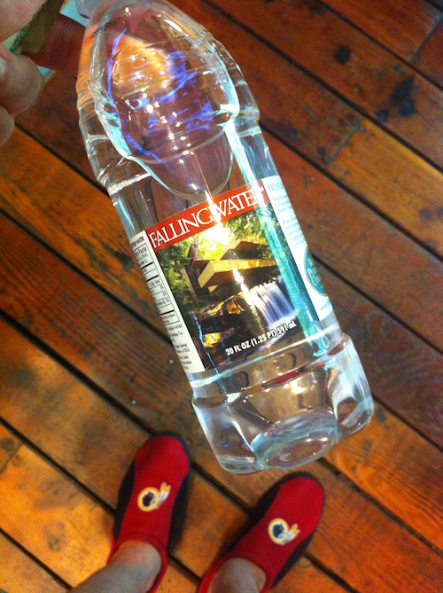 fallingwater water
