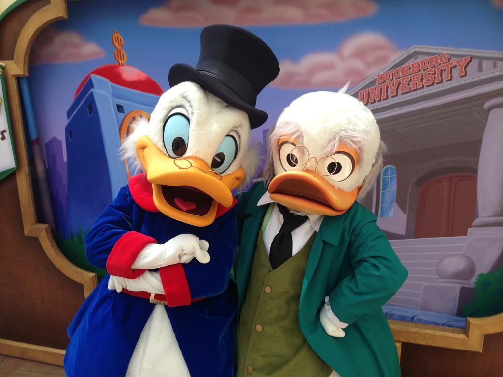 ducks dinsey