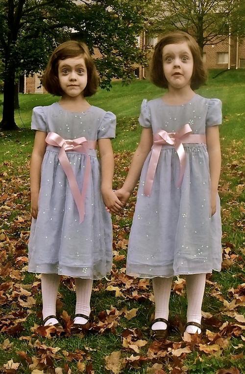 faux grady twins