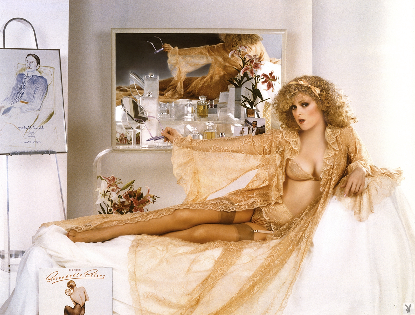 Bernadette Peters playboy 9