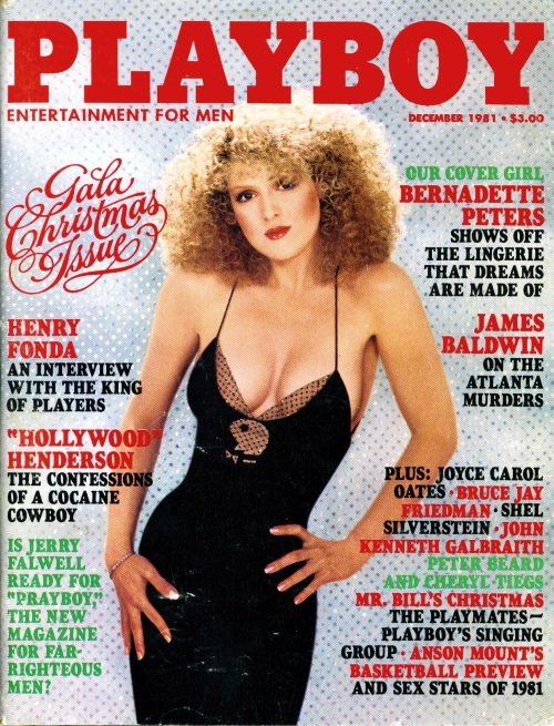 Bernadette Peters playboy cover