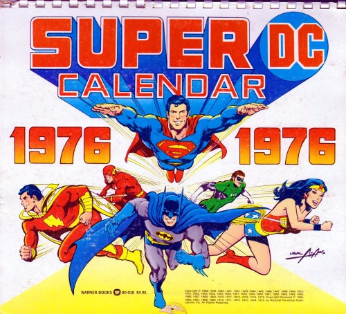 DC calendar 1976