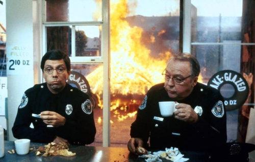 Ed Herlihy Bruce Mahler Police Academy 2