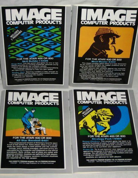 atari cassettes