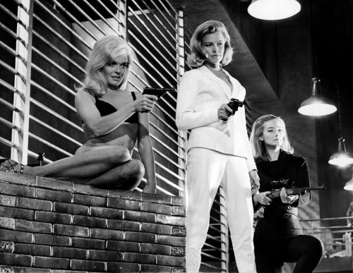 bond girls goldfinger
