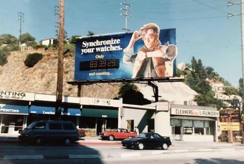 bttf billboard