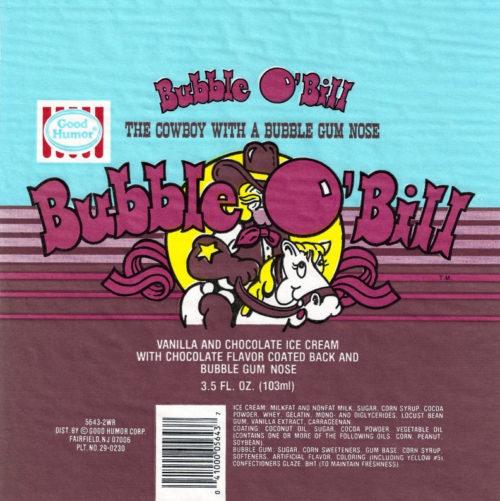 bubble o bill packagingf