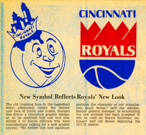 cincinnati royals log