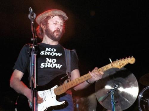 clapton slow show snow