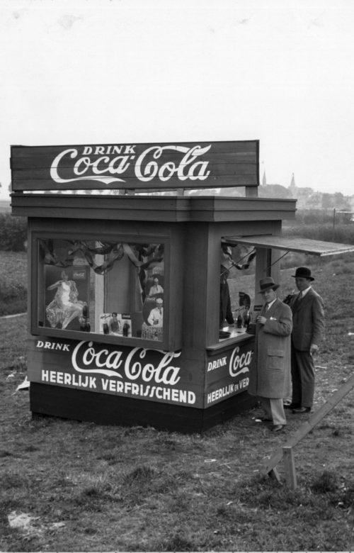 coke amsterdam olympics