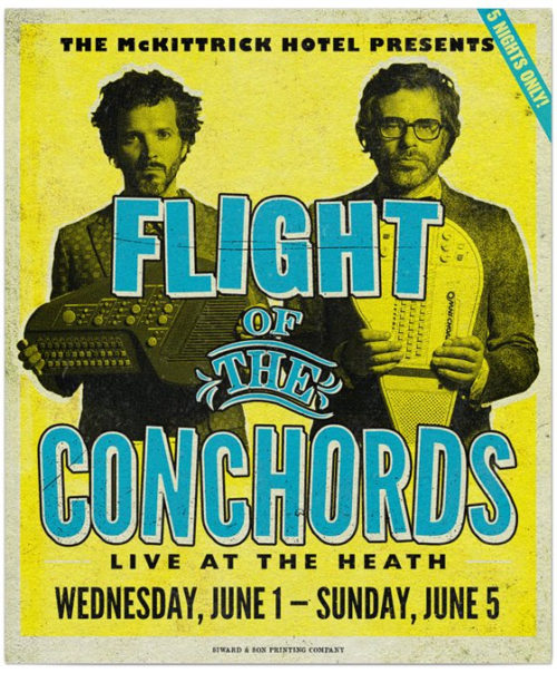 conchords poster