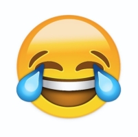 crying laughting emoji