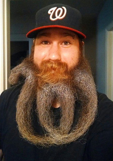 curly w beard