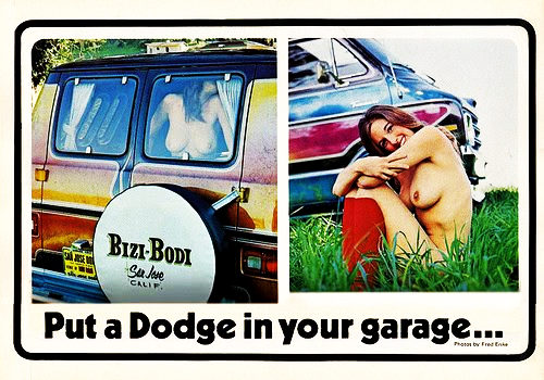 dodge in your garage