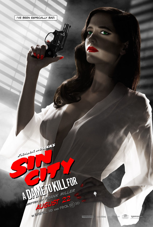 eva green poster sin city