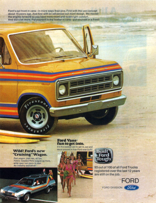 ford van beach