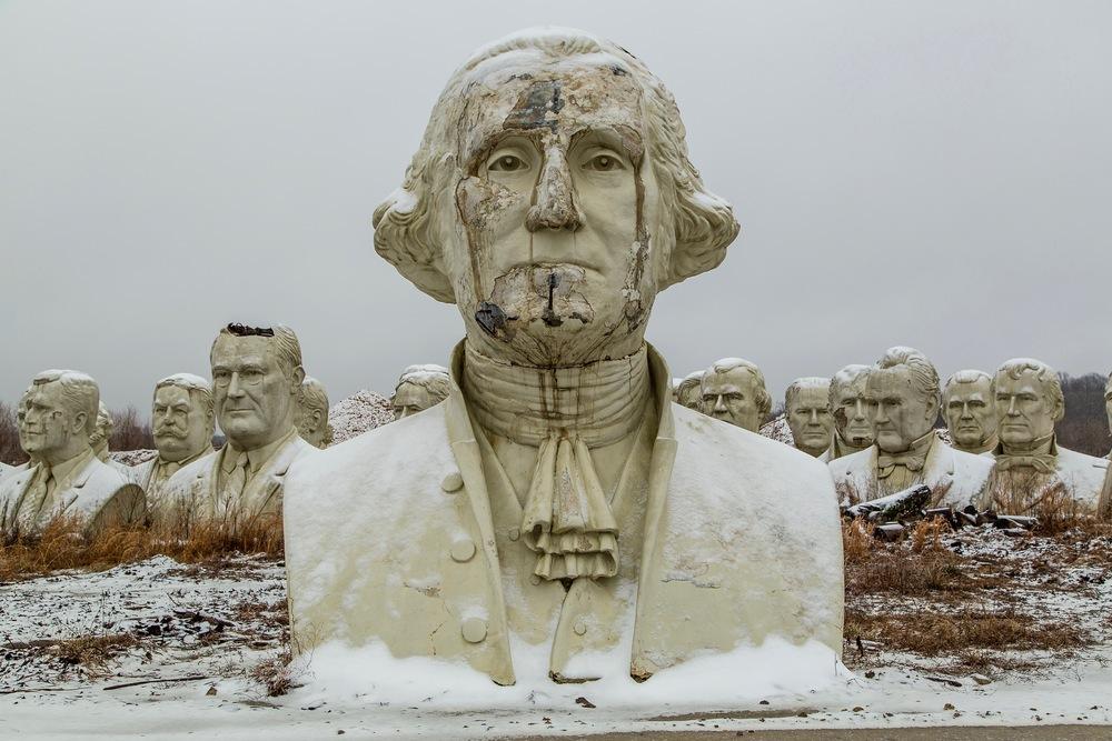 george-bust