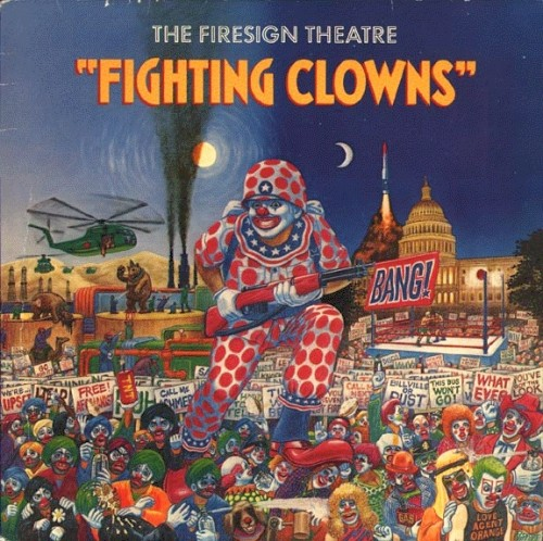 hartman fighting clowns