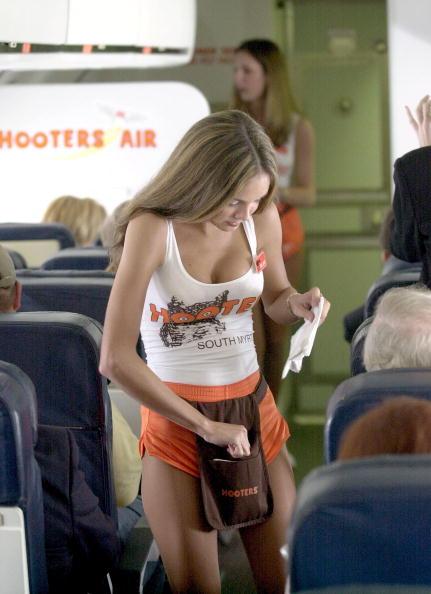 hooters air stewardess