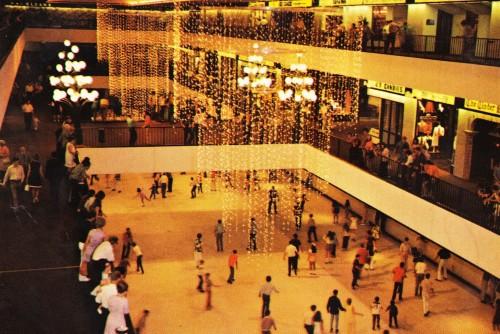 ice rink mall
