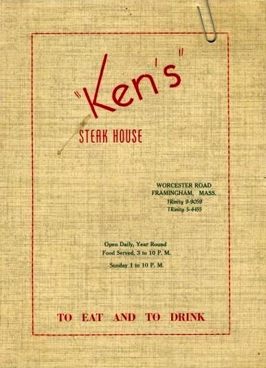 kens menu