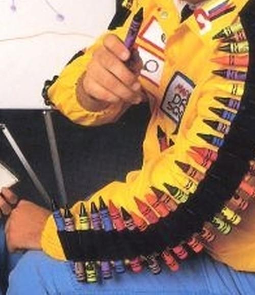 mark crayons