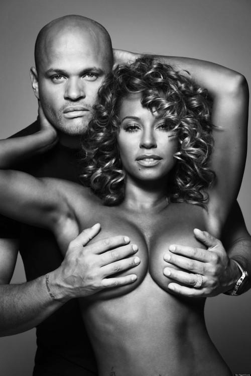 mel b breasts