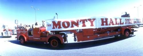 monty hall firetruck