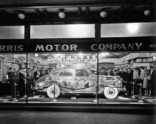 pontiac gm showroom