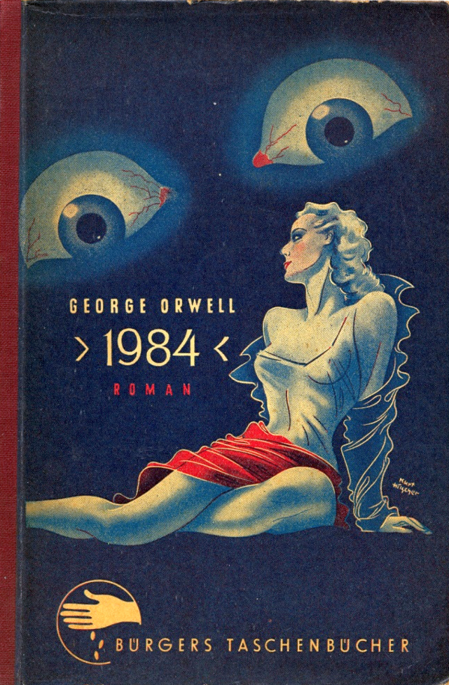 a review of 1984 by george orwell George orwell made no secret of the fact that his novel 1984 was not really about the future but about the very time he wrote it in, the bleak years after world war ii when england shivered in poverty and hunger.