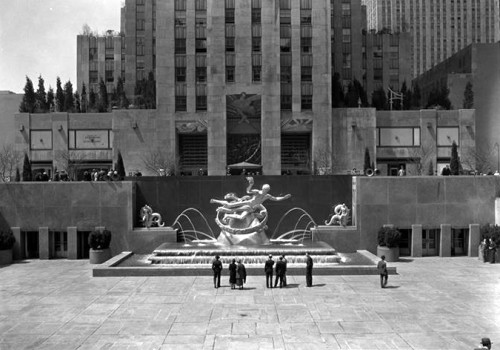 rockerfeller fountain