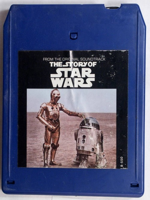 story of star wars 8 track