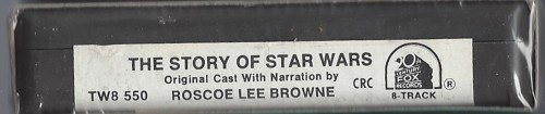 story of star wars label