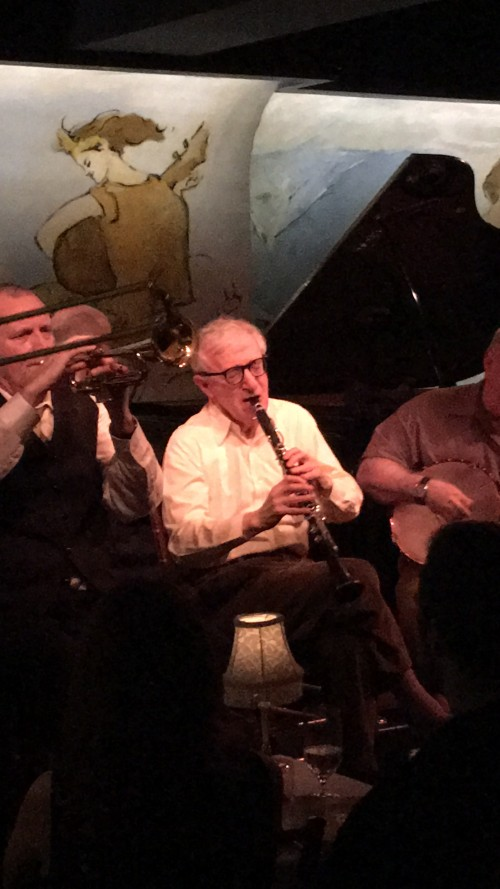 woody allen cafe carlyle