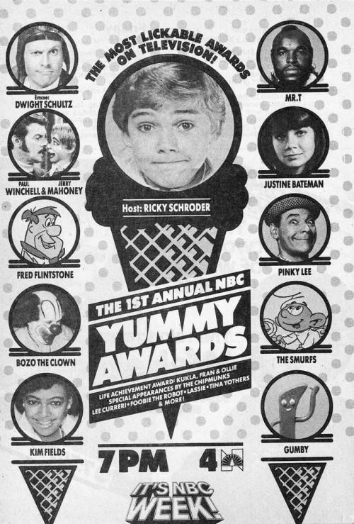 yummy awards